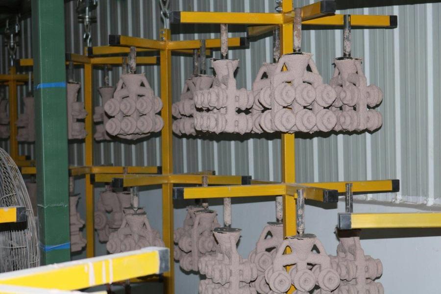 Lost-wax casting shells